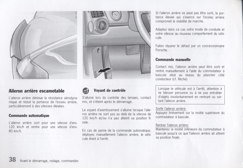 Manuel Tech Français Boxster 986 de 1998 et la S de 2001 [Dispo ICI !] - Page 2 3810