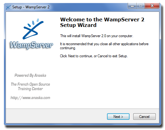 [Débutant] Télécharger et installer Wampserver Instal11