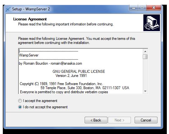 [Débutant] Télécharger et installer Wampserver Instal12