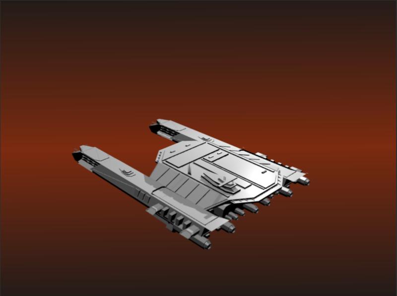 Idée pour les vaisseaux utilitaire Tau'ri  V1110