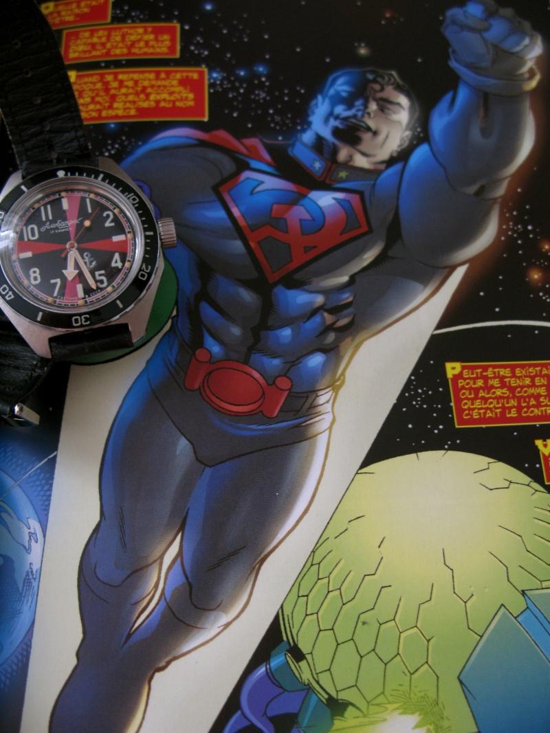 Si superman red son avait une montre se serai ....... Img_6915