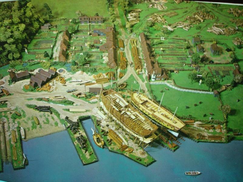 Diorama d'arsenale inglese dell'inizio '800 Dsc00022
