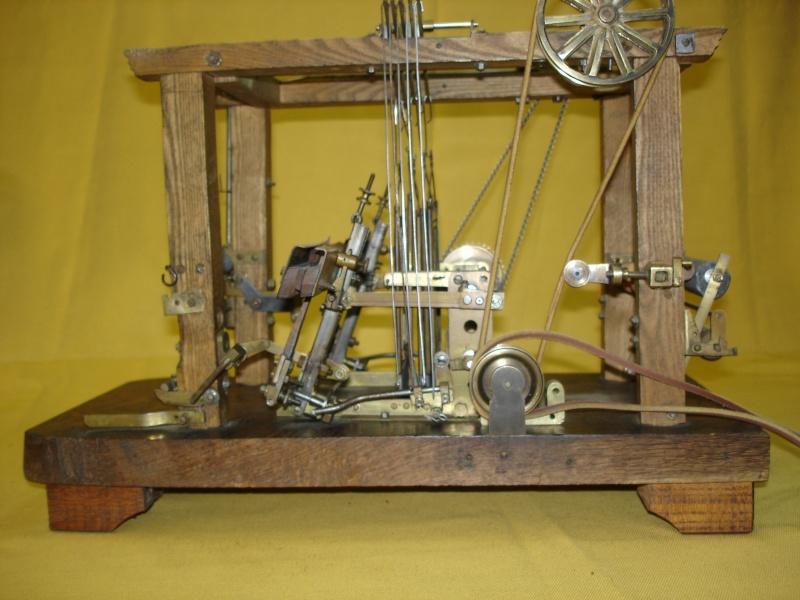 Modello di telaio tessile in legno originale fine'800-primi '900 Dsc00024