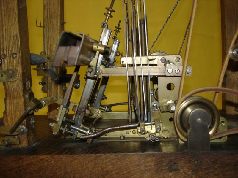 Modello di telaio tessile in legno originale fine'800-primi '900 Dsc00025