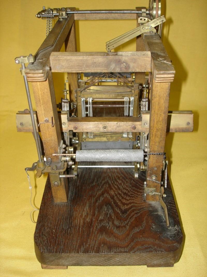 Modello di telaio tessile in legno originale fine'800-primi '900 Dsc00026