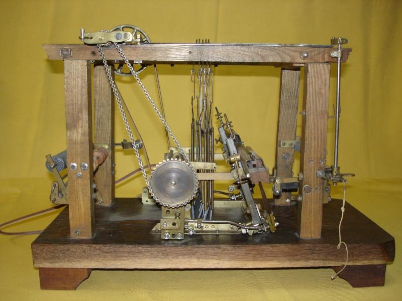 Modello di telaio tessile in legno originale fine'800-primi '900 Dsc00029