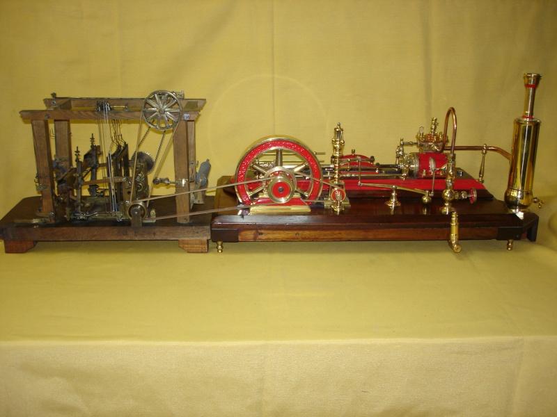 Modello di telaio tessile in legno originale fine'800-primi '900 Dsc00032