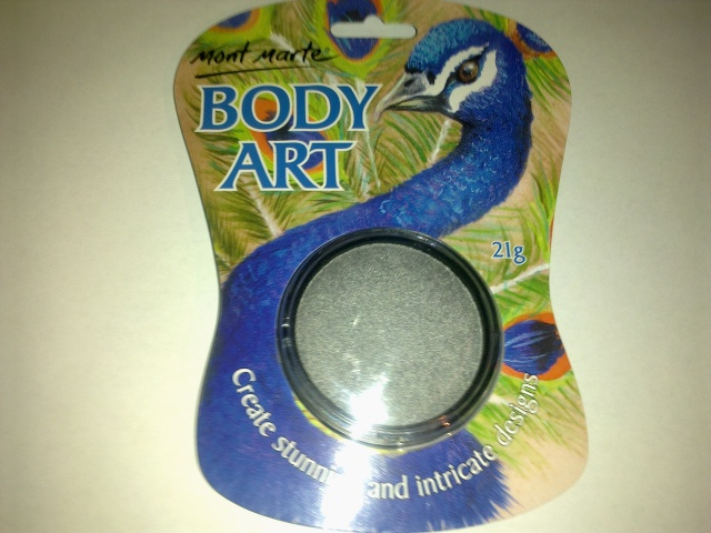 Has anybody seen or tried this - mont marte body art paint? 00410