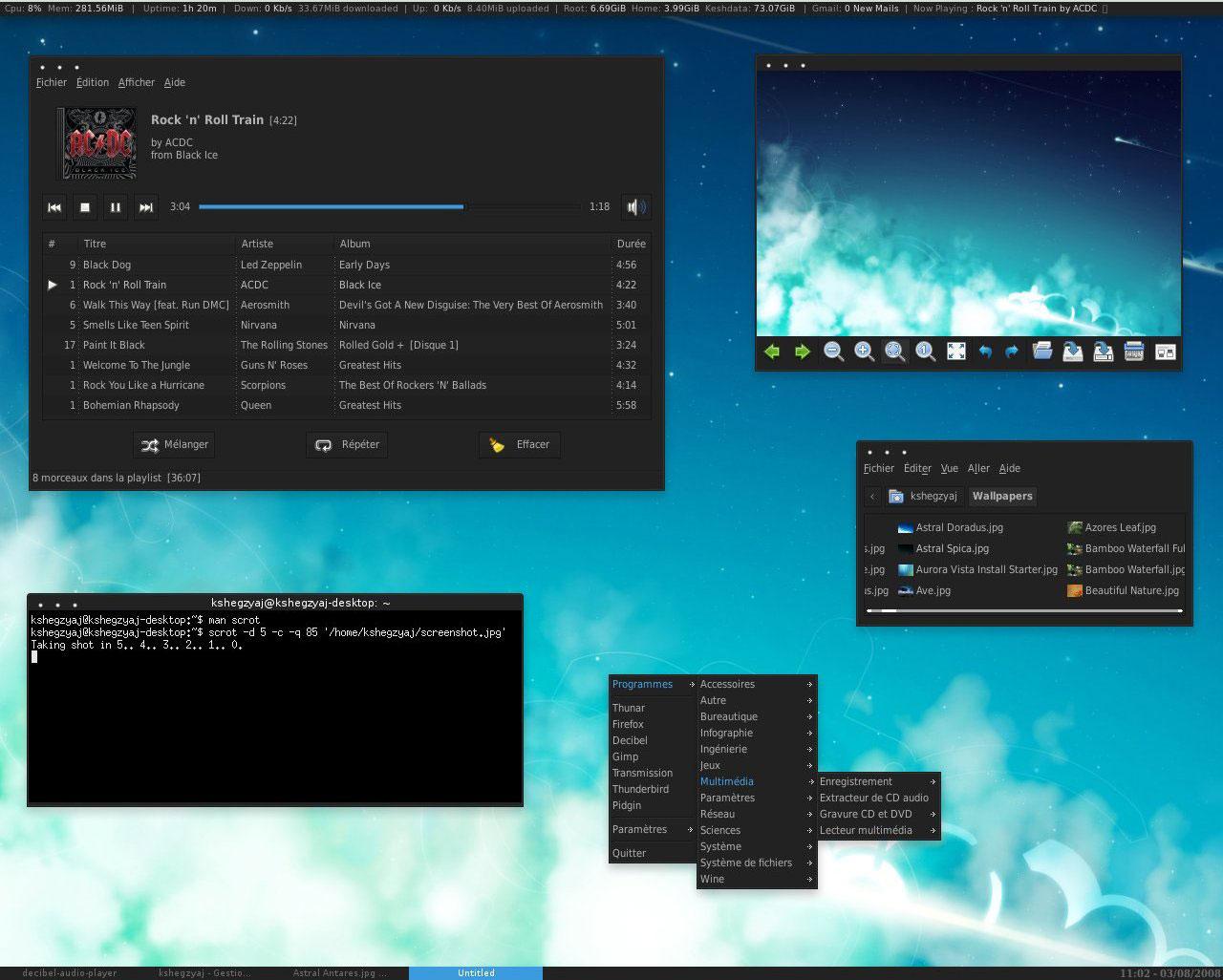ini dia 9 tampilan desktop linux yang paling keren Deskto13
