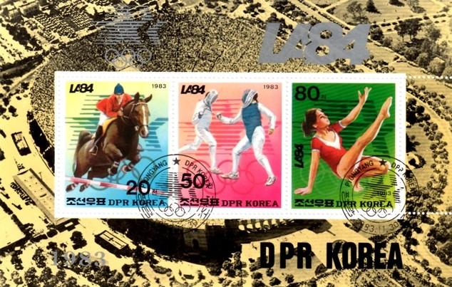 Olympische Spiele 1984 Block_12