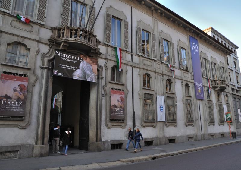 """Resoconto inaugurazione Mostra """"Dal Caravaggio"""" a Milano Dsc_0110"""