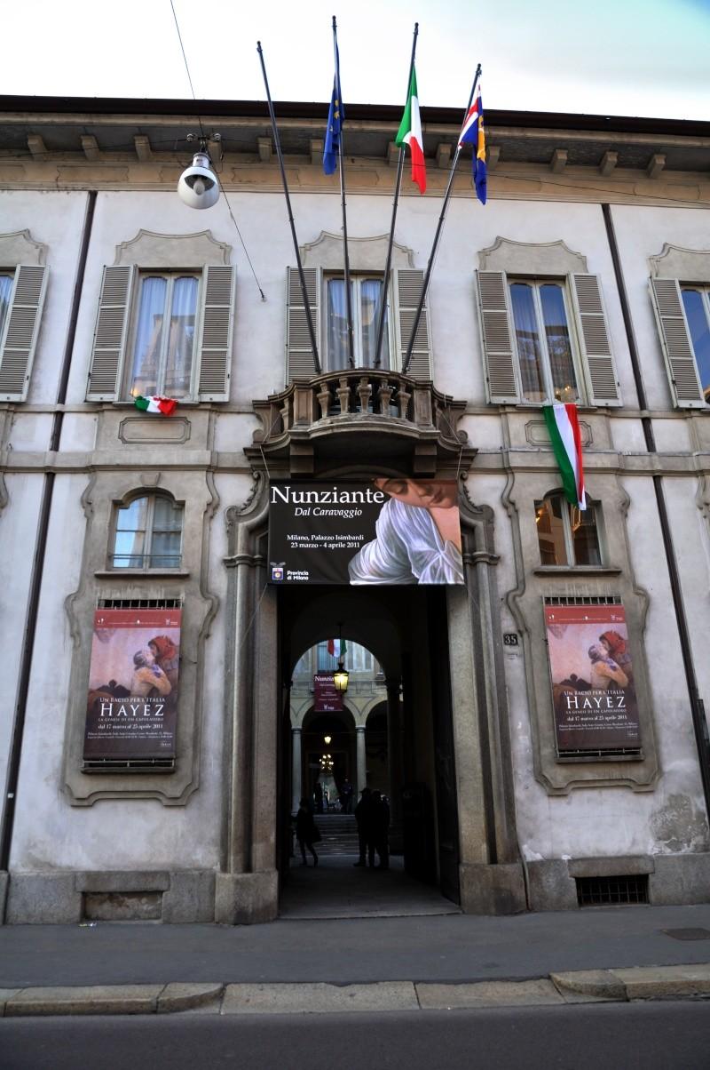 """Resoconto inaugurazione Mostra """"Dal Caravaggio"""" a Milano Dsc_0111"""
