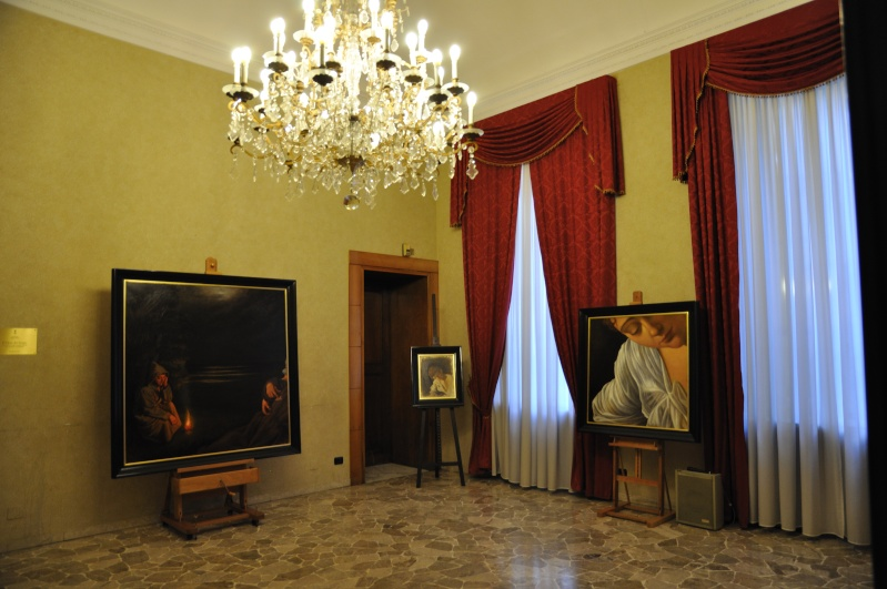"""Resoconto inaugurazione Mostra """"Dal Caravaggio"""" a Milano Dsc_0114"""