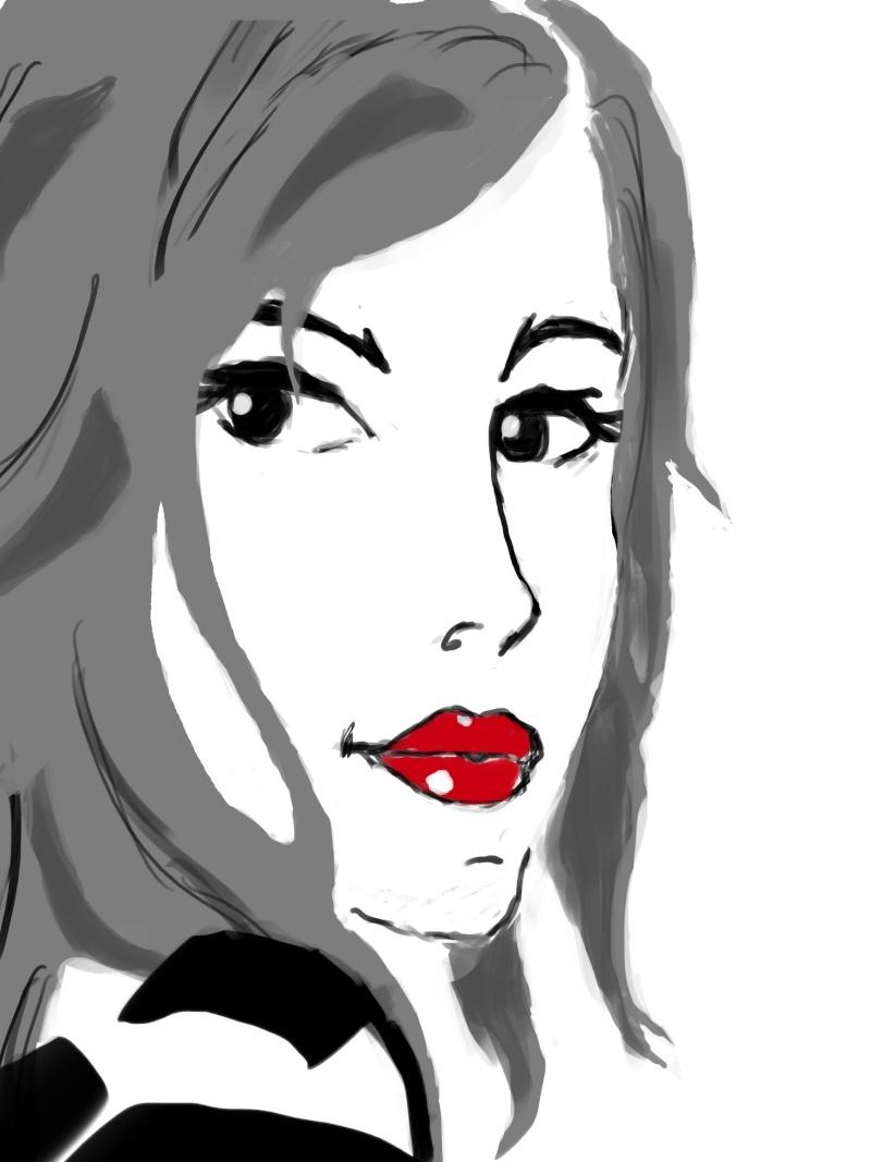 *Mes dessins et autre* :D Visage10