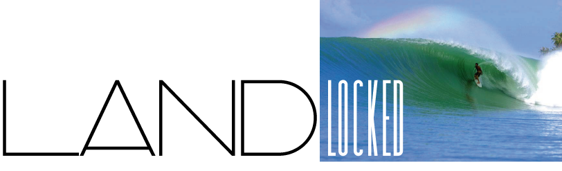 Landlocked surfing