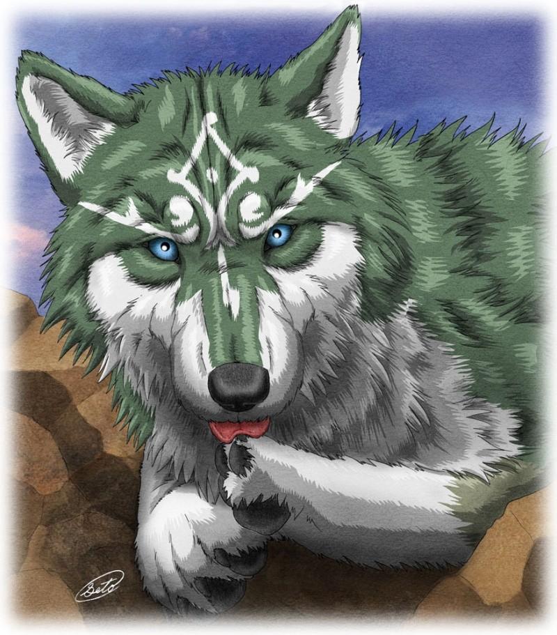 Flamey's Wolves Romulu11
