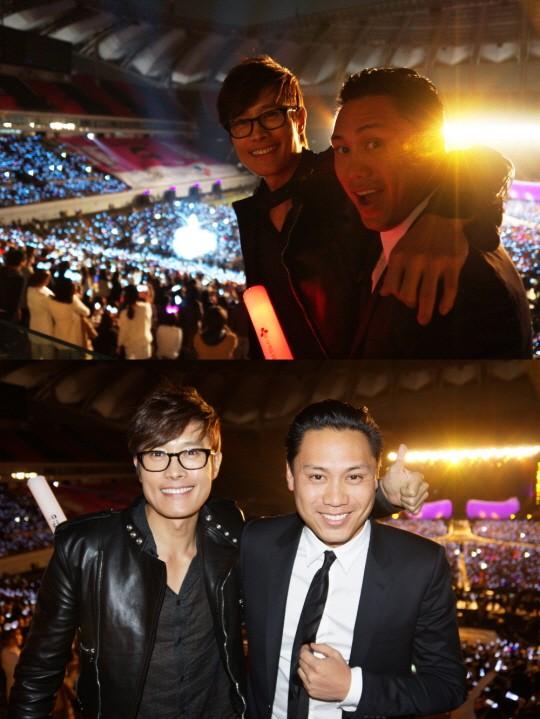Lee Byung Hun au concert de Psy! Lbhjon10