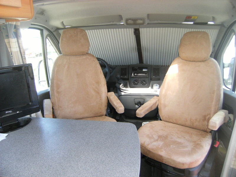 Sellerie Camping car Neuf_l10