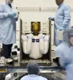 Un robot résident permanent de la Station spatiale Stocka10