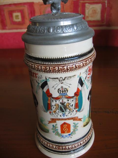 Post sur les objets du réserviste  de  l'empire allemand - Page 2 Chope_15