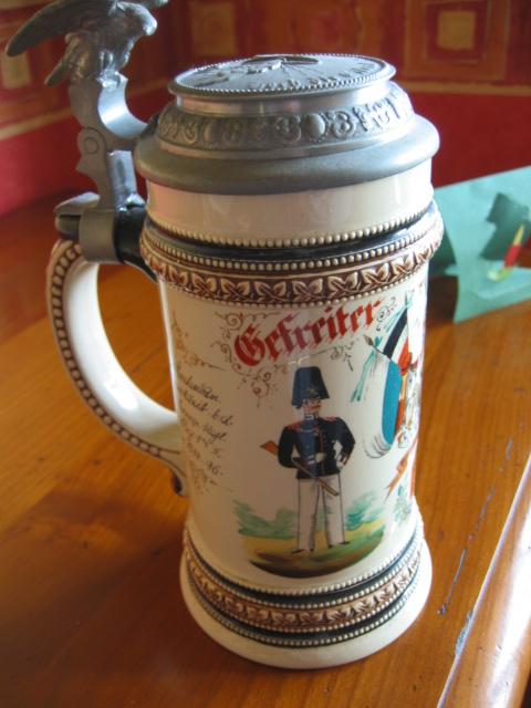 Post sur les objets du réserviste  de  l'empire allemand - Page 2 Chope_16