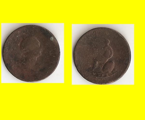 monnaie pour la Grande Bretagne, pour Georges III Sans_t16