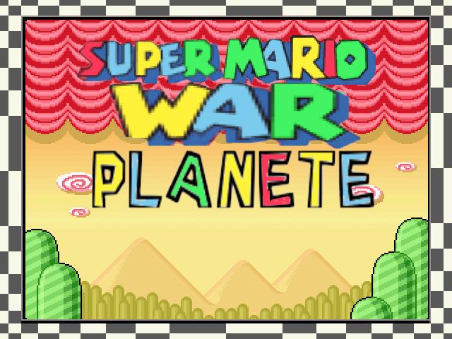 Super Mario War's Planet