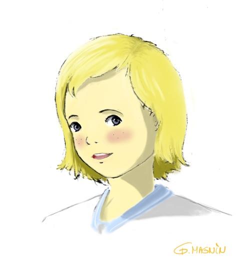 Annette Barniel (ma petite préférée ^^) recolorisation Annett11