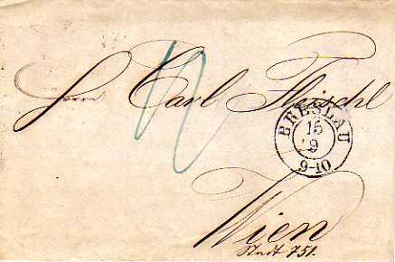 Postverhältnisse Preußen - Österreich Bresla10