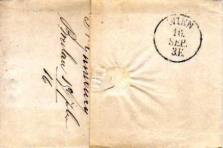 Postverhältnisse Preußen - Österreich Bresla11
