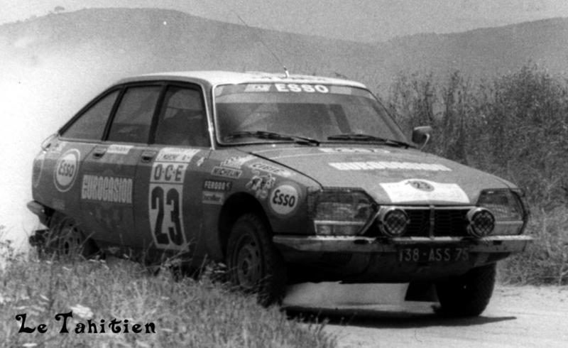 Le sport et citroen.... 1976-m10