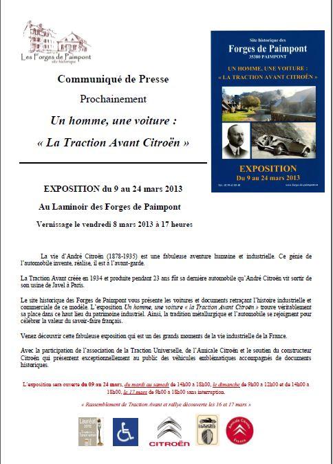 Les forges de PAIMPONT - expo Forges10
