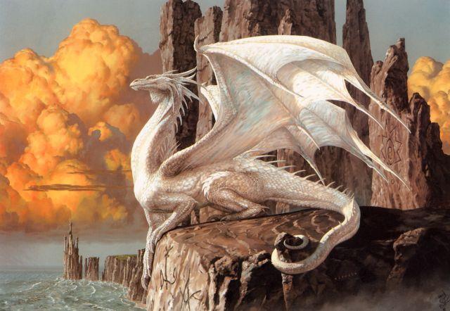 Aravis, la dernière dragonne [Edit Août 2013] White-10