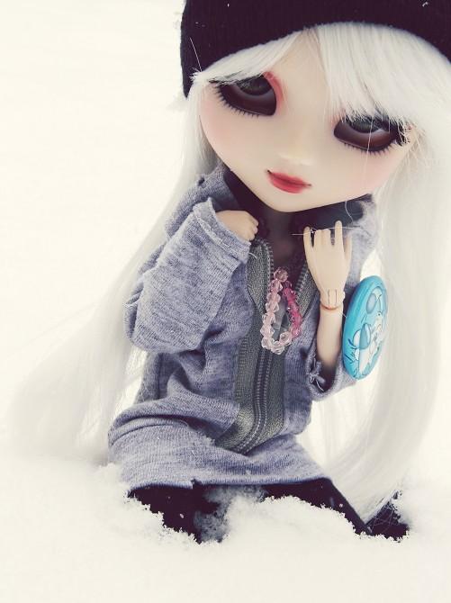 [Pullip FC & Pullip Mir]  Young Wolf Snowfl10