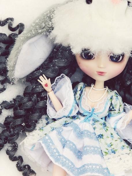 [Pullip FC & Pullip Mir]  Young Wolf Snowfl11