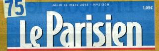 Le Parisien 14 mars 2013. Lepari10