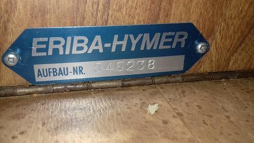 Plaque constructeur Eriba / Hymer [Post Photos] - Page 16 20190110