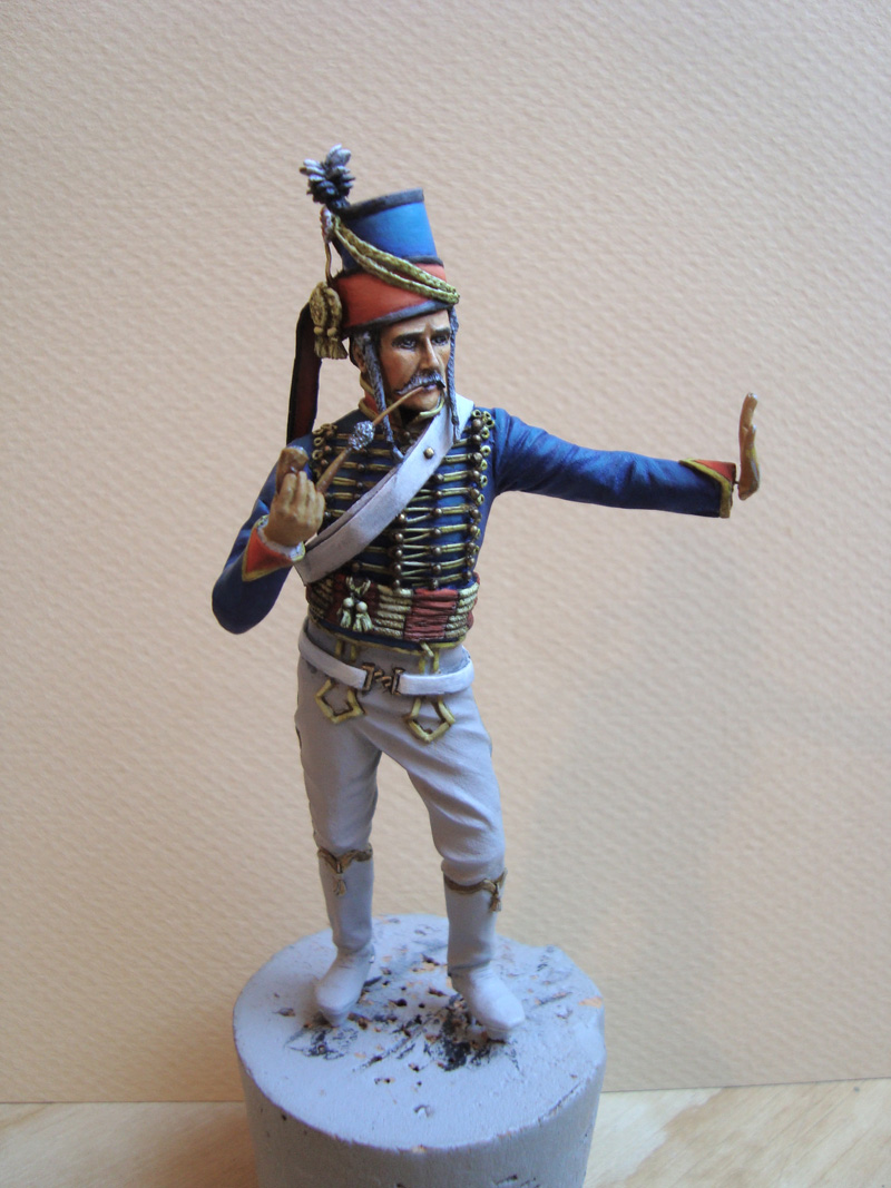 Hussard d'après K. Rocco 16r10