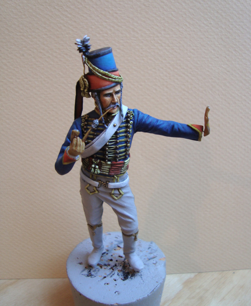 Hussard d'après K. Rocco 17r11