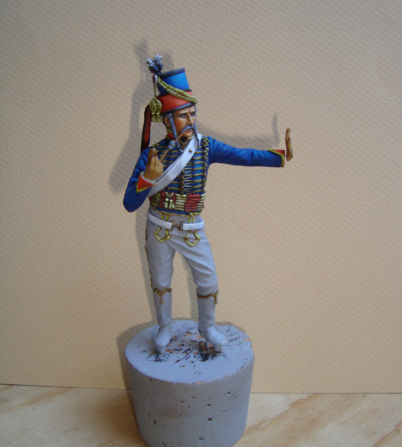 Hussard d'après K. Rocco 18r10