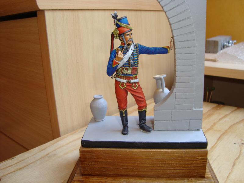 Hussard d'après K. Rocco 26r10