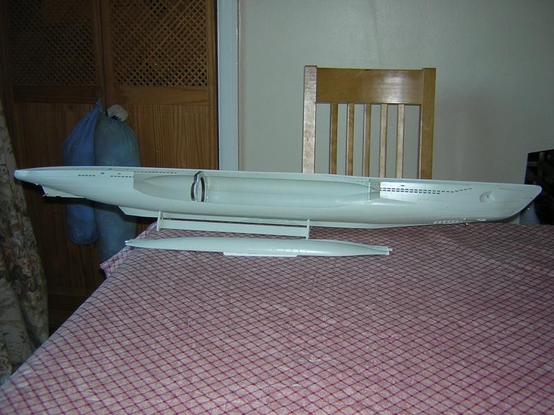 Revell 1:72 VIIC u-boat Dscn6213
