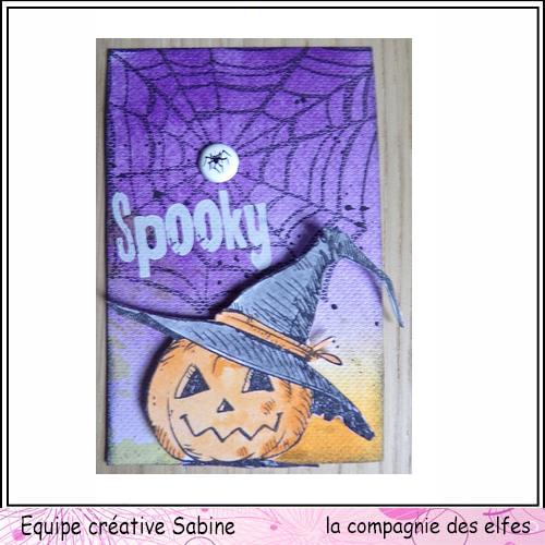 Cartes créatives d'Octobre. Sabine14