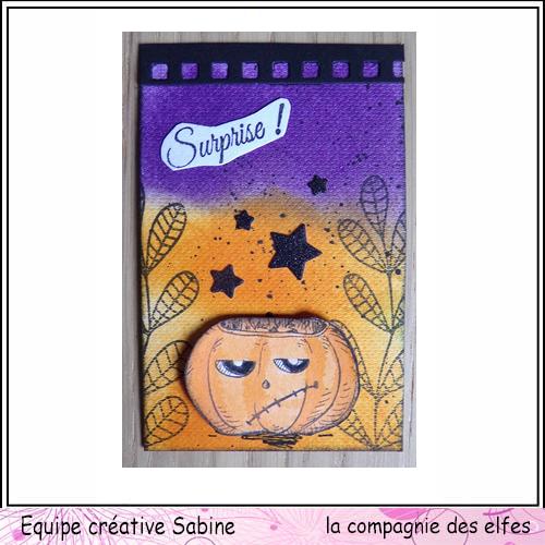 Cartes créatives d'Octobre. Sabine16