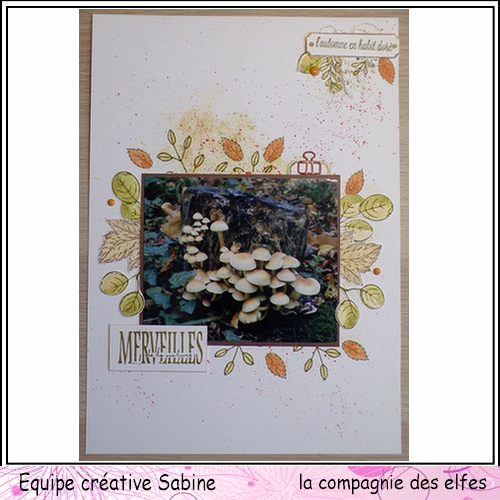 Sketch carte ou page. Sabine21
