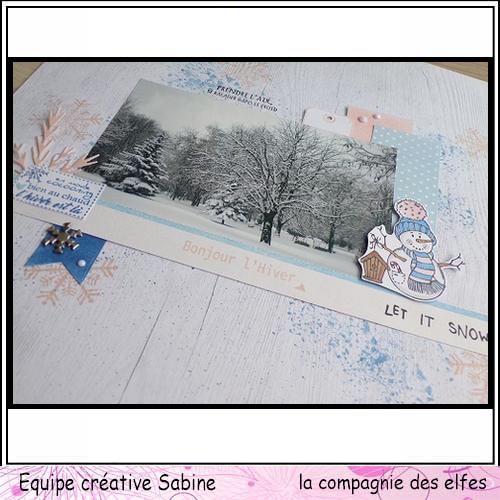 Scrap pages octobre 2019. Sabine36