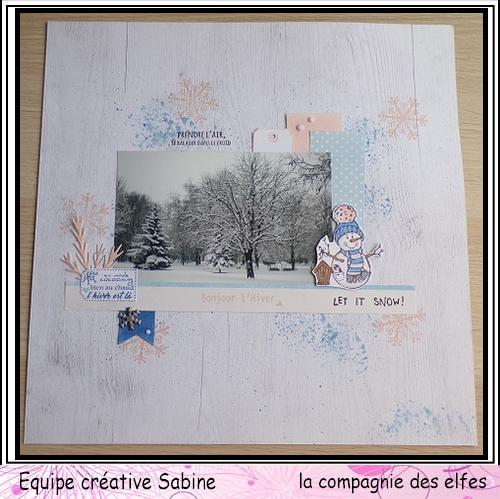 Scrap pages octobre 2019. Sabine37