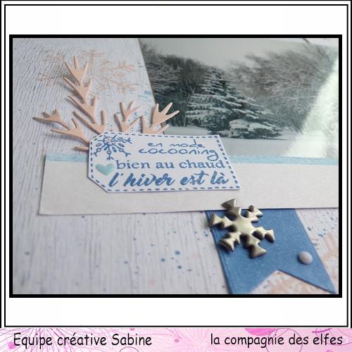 Scrap pages octobre 2019. Sabine38