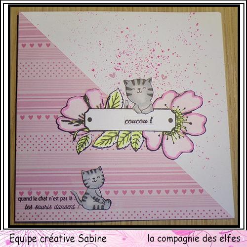 Cartes créatives de Novembre. Sabine40