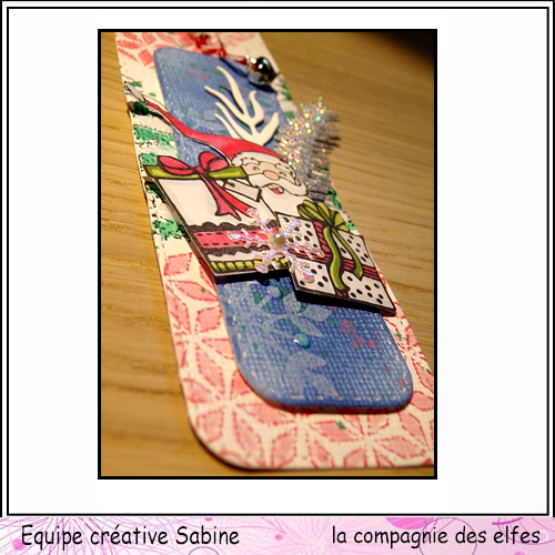 La cie propose une inspiration marque page le 2 décembre Sabine52